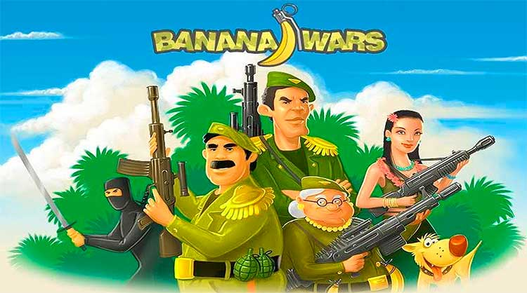 Плакат Banana Wars