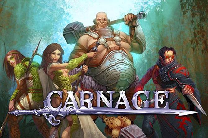 Браузерная онлайн игра Карнаж