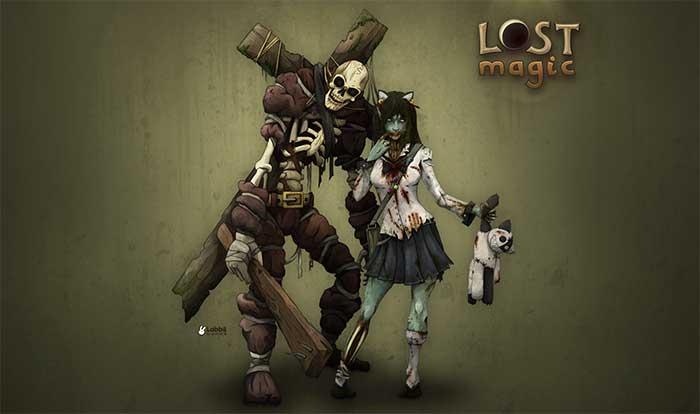 Игра lost magic