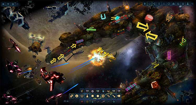 Игровой процесс Dark Orbit