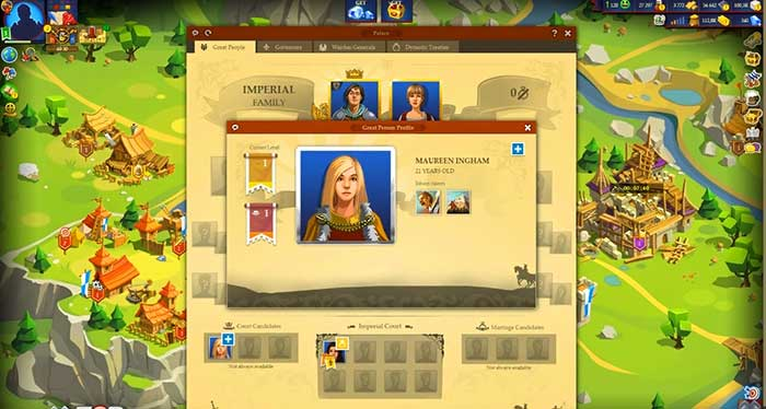 Геймплей Game of Emperors