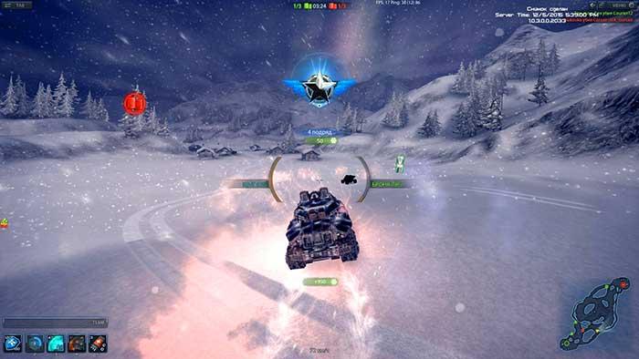 Игровой процесс Metal War Online