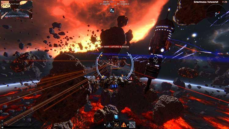Игровой процесс tar conflict