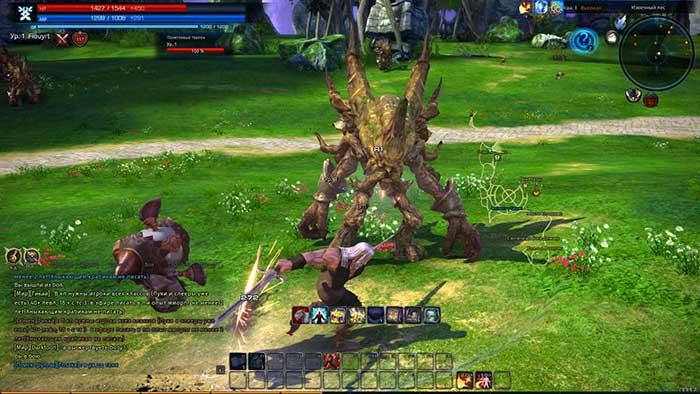 Игровой процесс Tera online