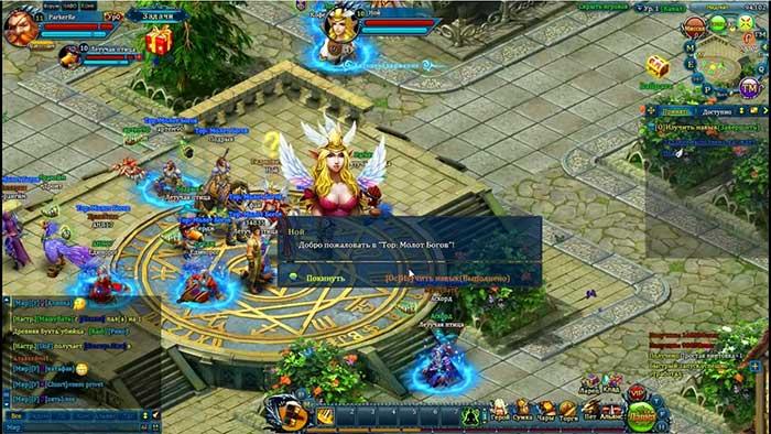 Игровой процесс тор молот богов