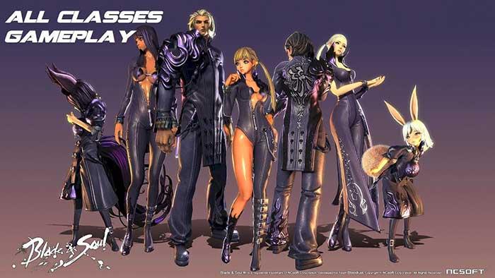 Классы персонажей Blade and Soul