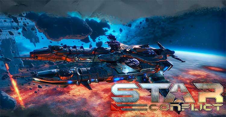 Клиентская игра Star Conflict