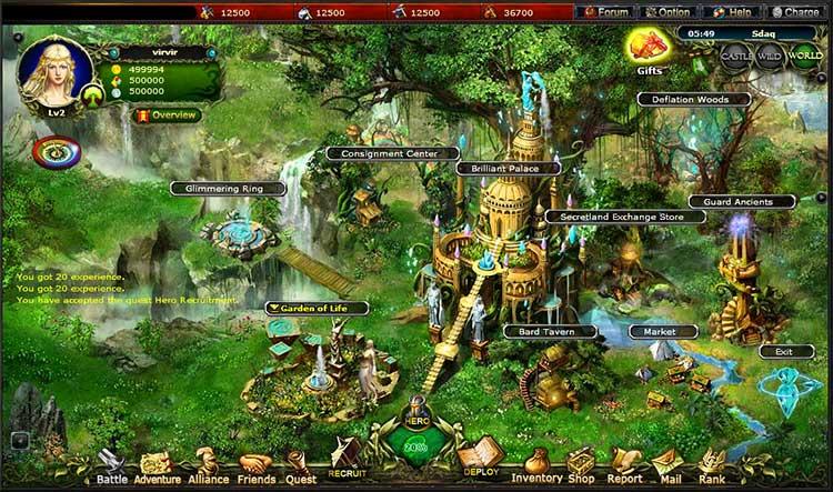 Скриншот Call of Gods