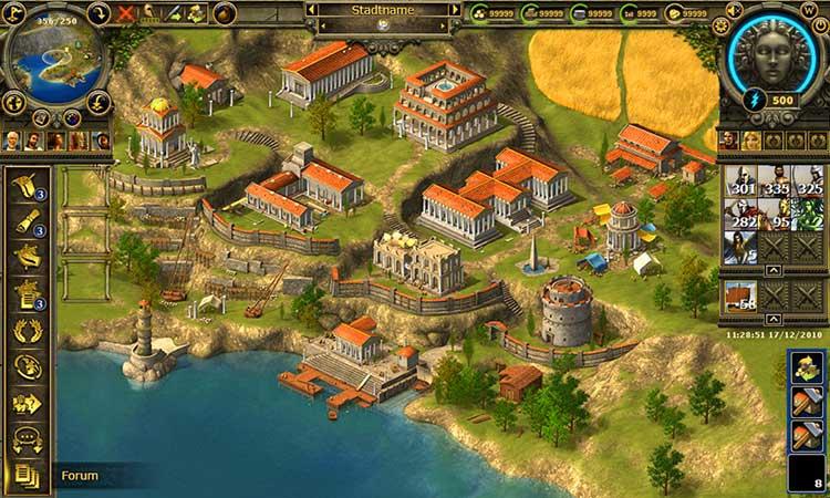 Скриншот Grepolis
