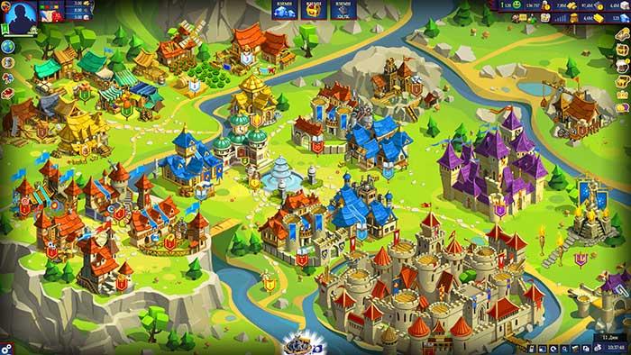 Скриншоты из игры Game of Emperors
