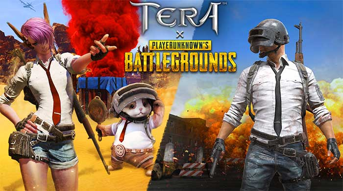 Коллаборация Playerunknown's Battlegrounds и Tera