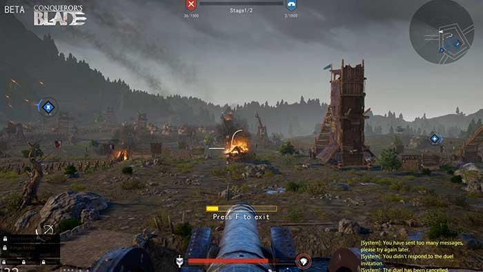 Игровой процесс Conqueror's Blade
