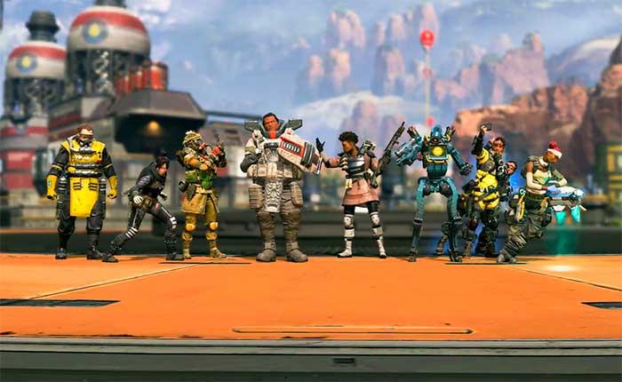 Персонажи игры Apex Legends