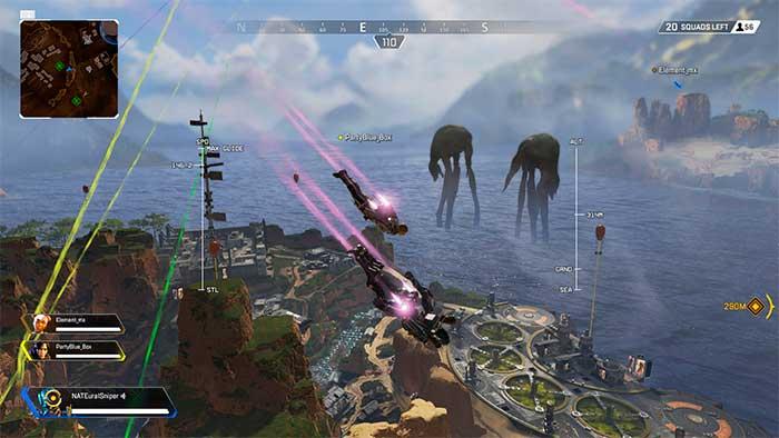 Скриншот из игры Apex Legends