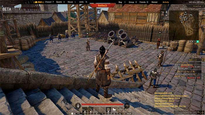 Скриншот из игры Conquerors Blade