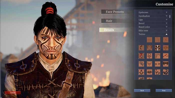 Создание персонажа в Conquerors Blade