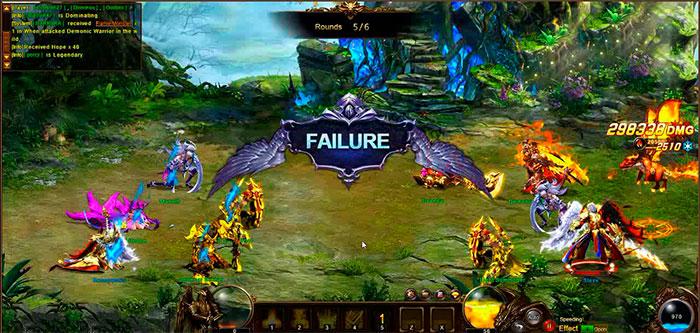 Геймплей Dragon Awaken