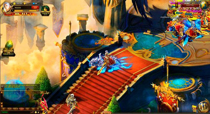 Скрнишот из игры Dragon Awaken