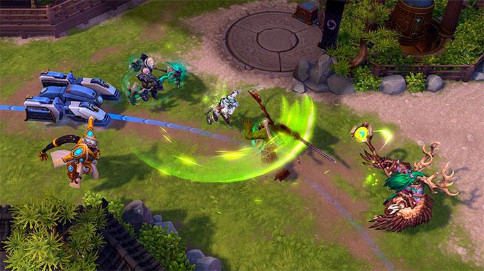 Графика в игре Heroes of the Storm