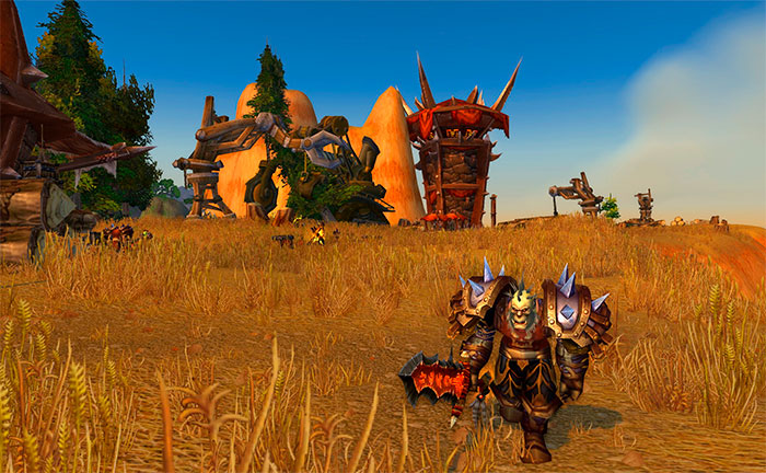 Игровой мир World of Warcraft Classic