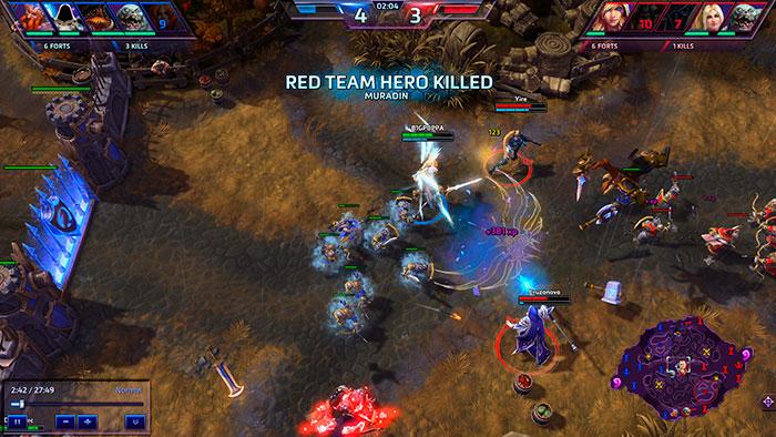 Онлайн игра в жанре моба Heroes of the Storm
