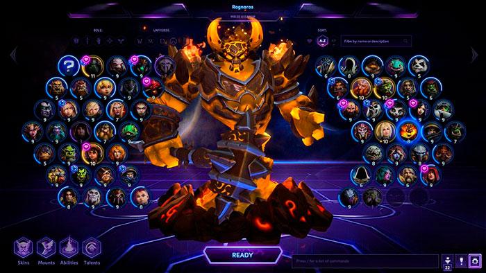 Персонажи в игре Heroes of the Storm