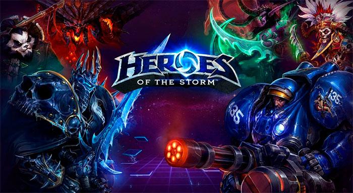 Регистрация в игре Heroes of the Storm