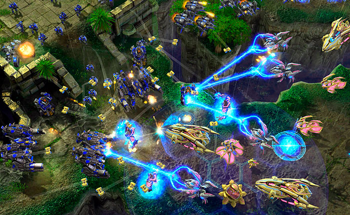 Сетевой режим в игре StarCraft 2