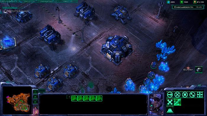 Скриншот из игры StarCraft 2