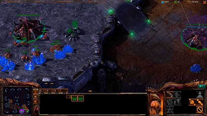 Зерги в Starcraft 2