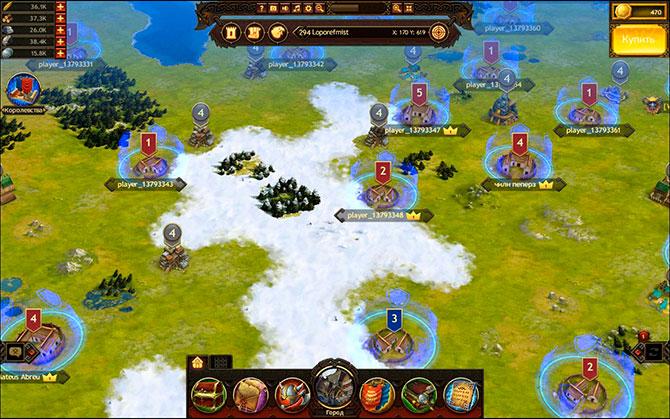 Игровой процесс Vikings War of Clans