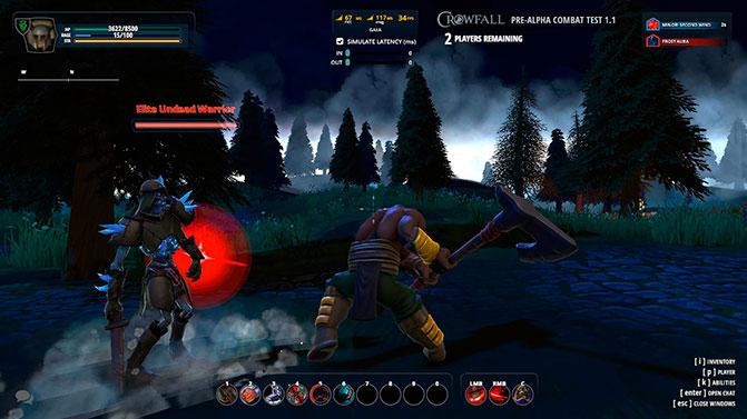 Качество графики в игре Crowfall
