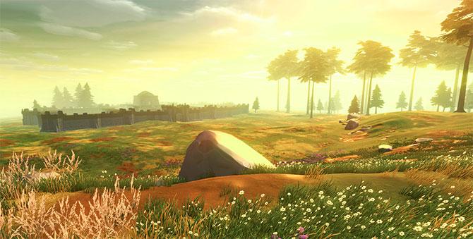 Красивые миры в игре Crowfall