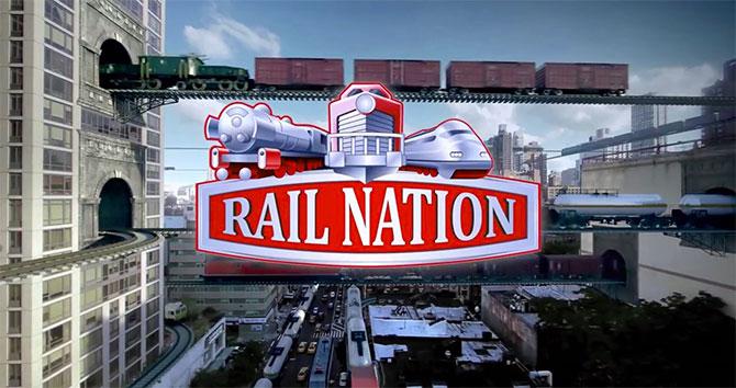 Регистрация в экономической стратегии Rail Nation