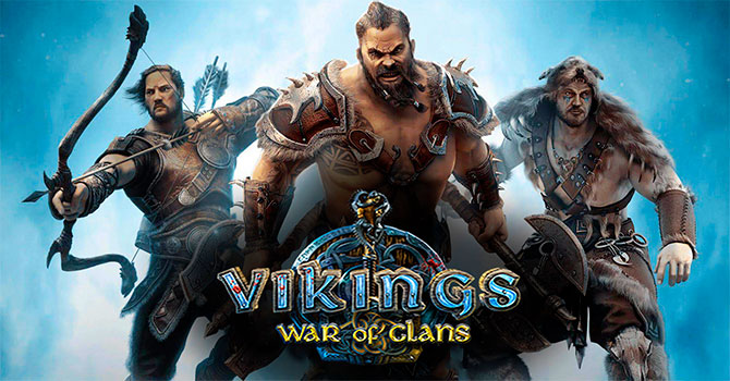 Регистрация в игре Vikings War of Clans