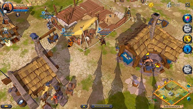 Скриншот из игры albion online
