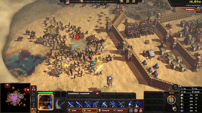 Скриншот из игры conan unconquered