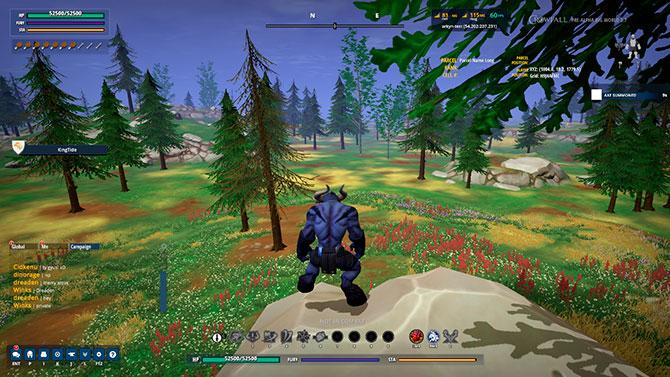 Скриншот из игры Crowfall