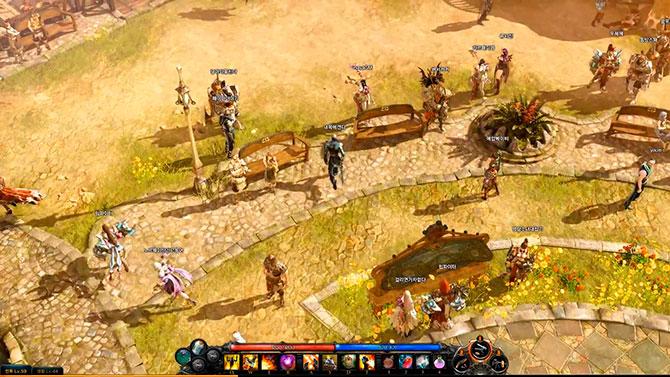 Скриншот из игры Лост Арк