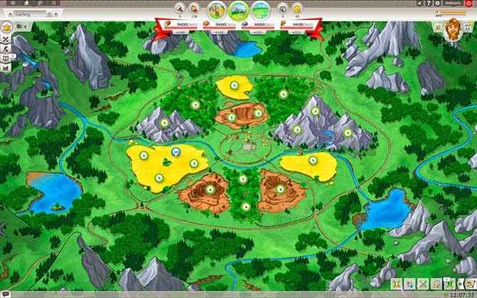 Скриншот из игры Travian Kingdoms