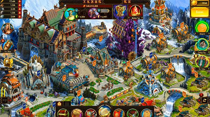 Скриншот из игры Vikings War of Clans