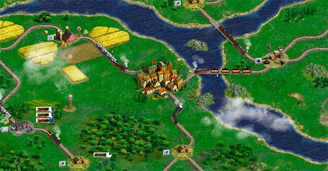 Железные дороги в игре Rail Nation