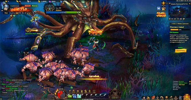 Боевая система в Jade Goddess