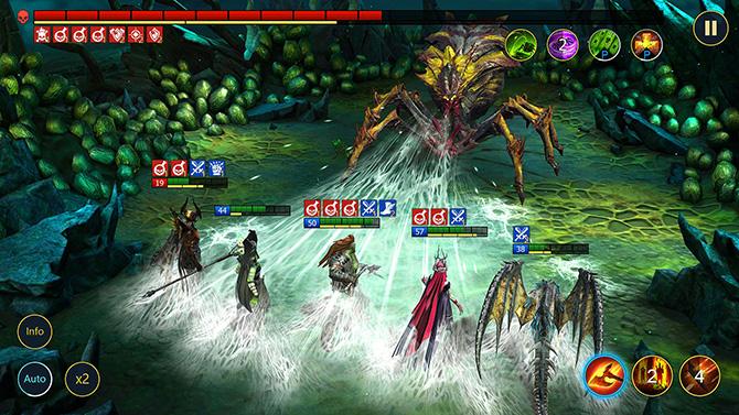 Игровой процесс Raid Shadow Legends