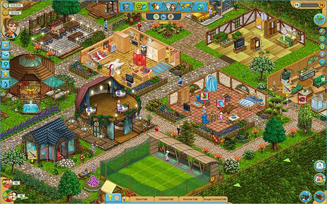 Скриншот из игры My Sunny Resort
