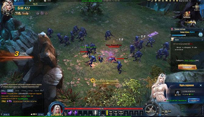Боевая система в игре Echo of War