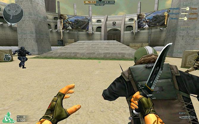 Обзор геймплея игры CrossFire