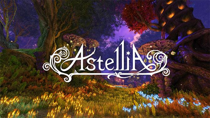 Регистрация в игре Astellia