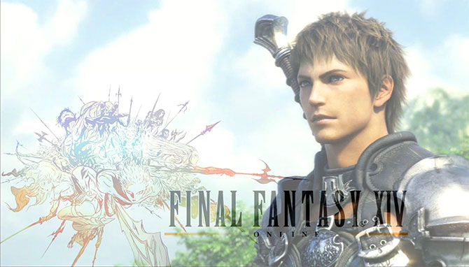 Обложка игры Final Fantasy XIV