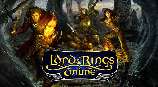 Обложка игры LotR Online